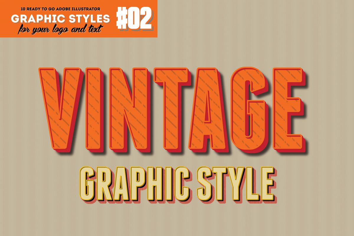 10 Retro Vintage Graphic Style for AI example image 1