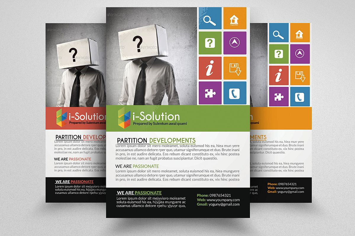 Business Idetification Flyers example image 1