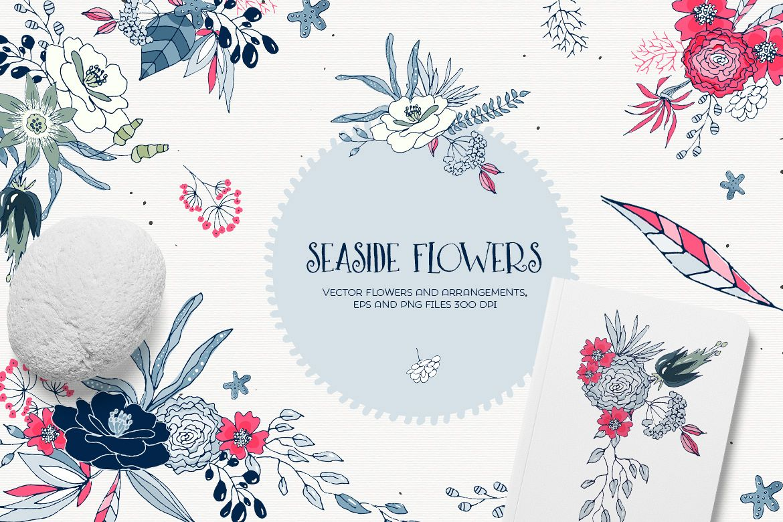 Seaside Flowers example image 1