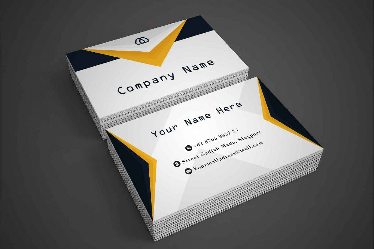Modern and Simple Business Card Template example image 1