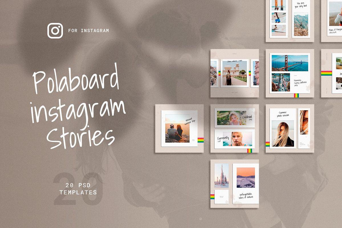 Polaboard Instagram Social Kit example image 1