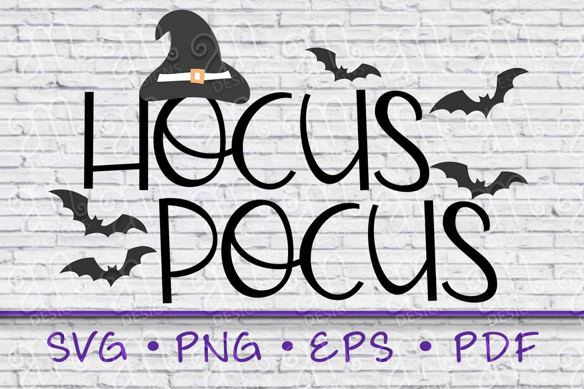 hocus pocus, witch hat, hocus pocus svg, halloween svg example image 1