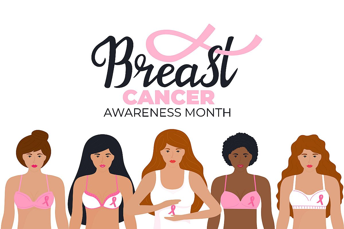 National Breast Cancer Awareness Month. example image 1
