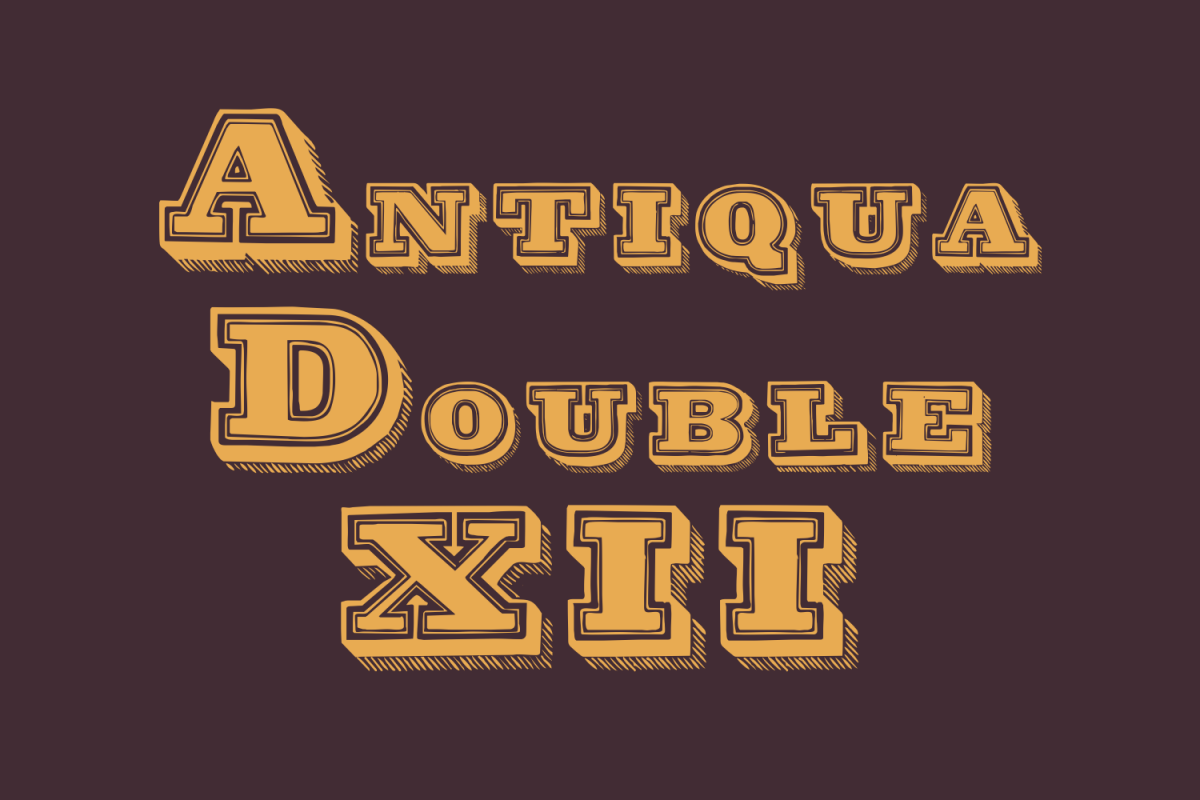 Antiqua Double 12 example image 1