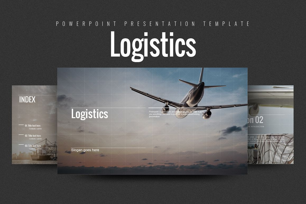 Logistics PPT example image 1