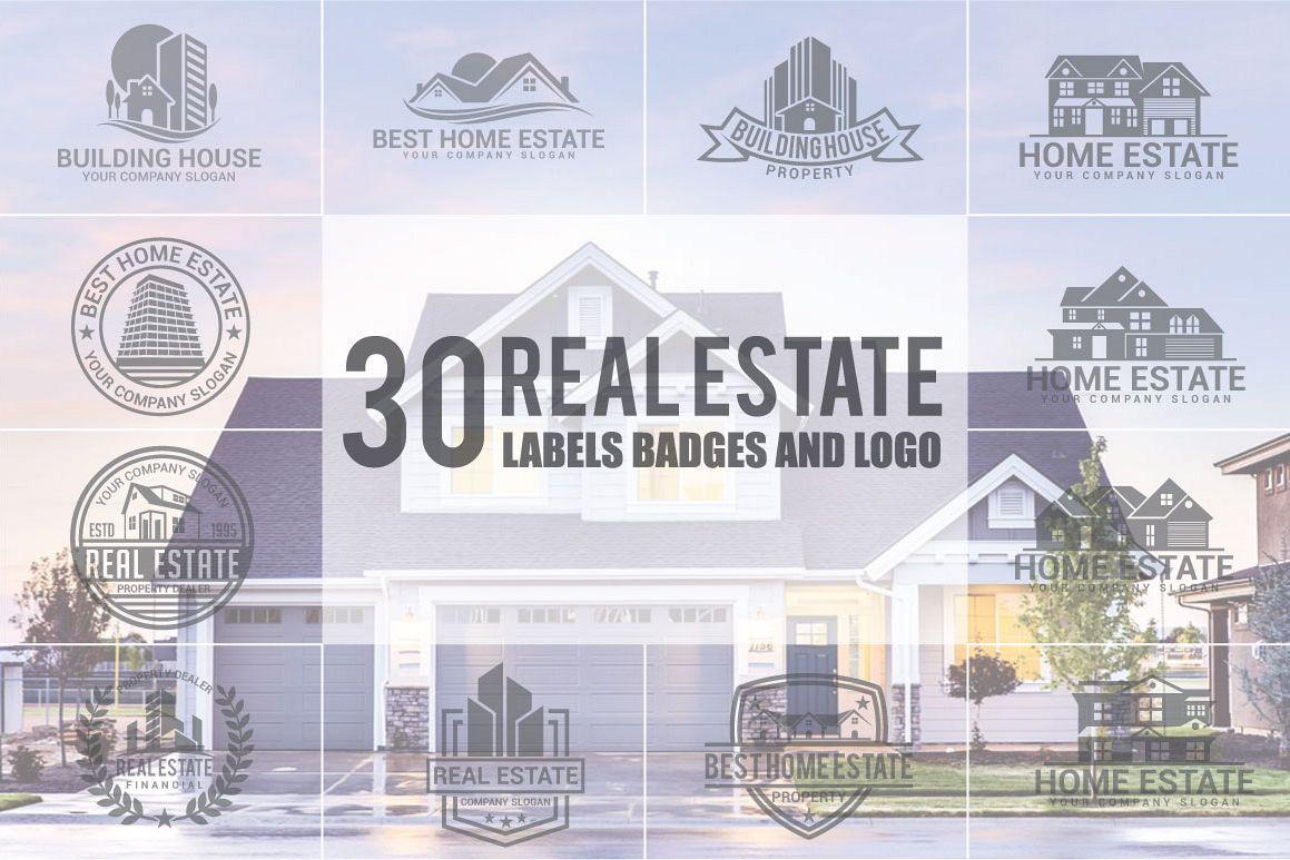 Real Estate Logo & Badges example image 1