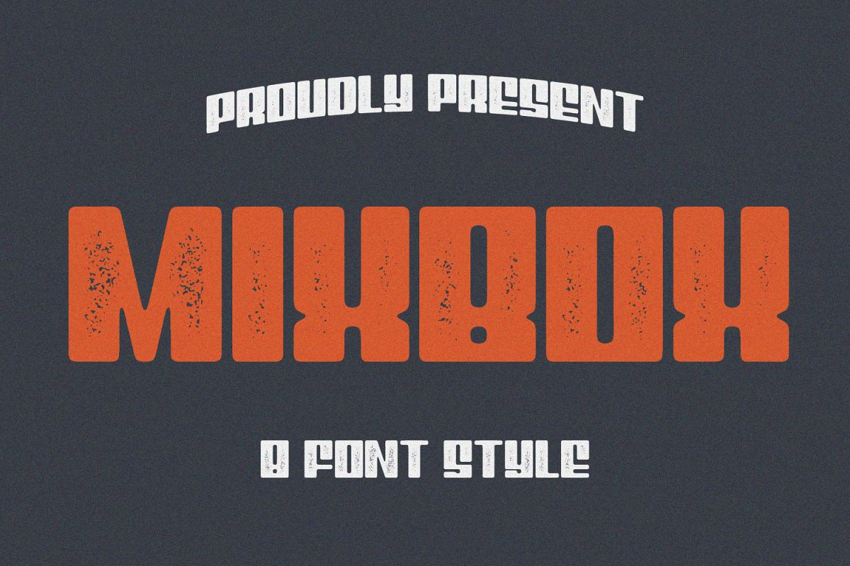 8 Font - MixBox Font Family example image 1