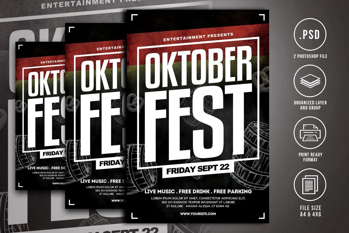 Oktoberfest Flyer Template example image 1