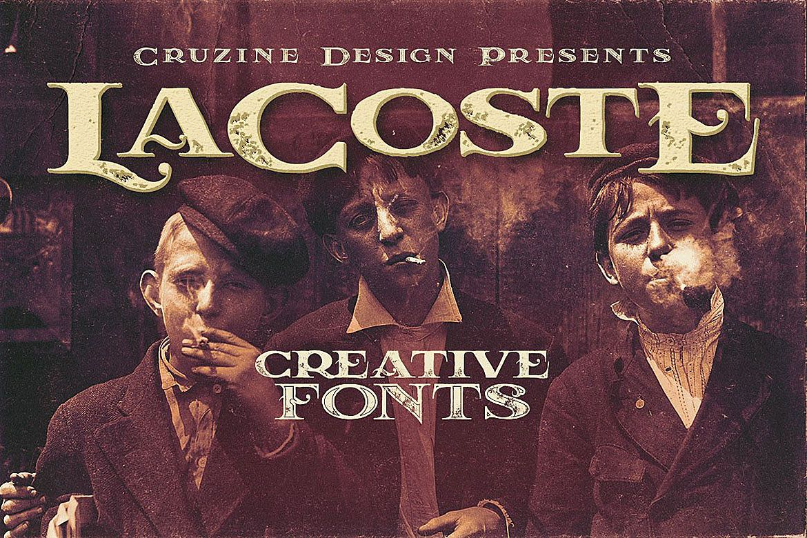 LaCoste Typeface example image 1