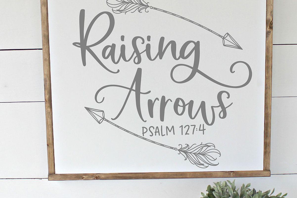 Raising Arrows SVG example image 1