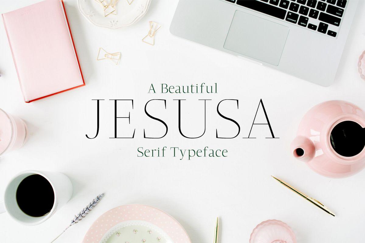 Jesusa Serif Typeface example image 1