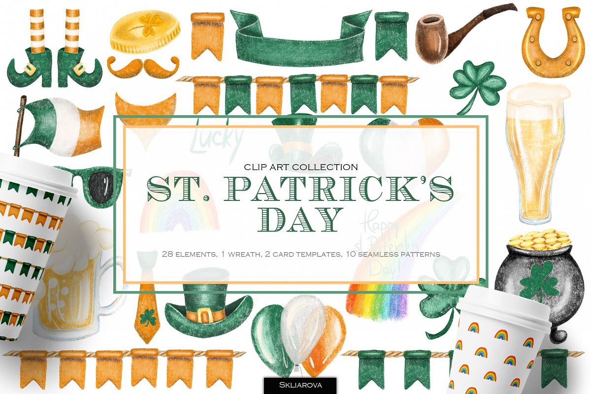 St. Patrick's Day clipart example image 1