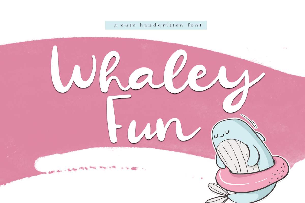 Whaley Fun - A Fun Script Font example image 1