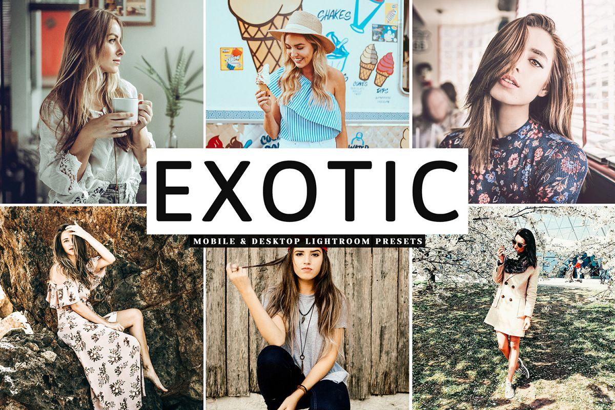 Exotic Mobile & Desktop Lightroom Presets example image 1