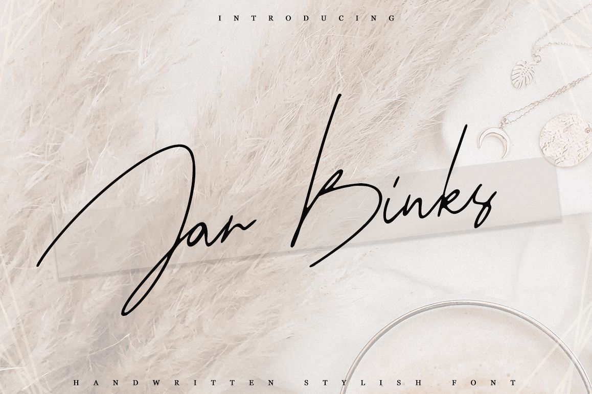 Jar Binks Latin & Cyrillic example image 1