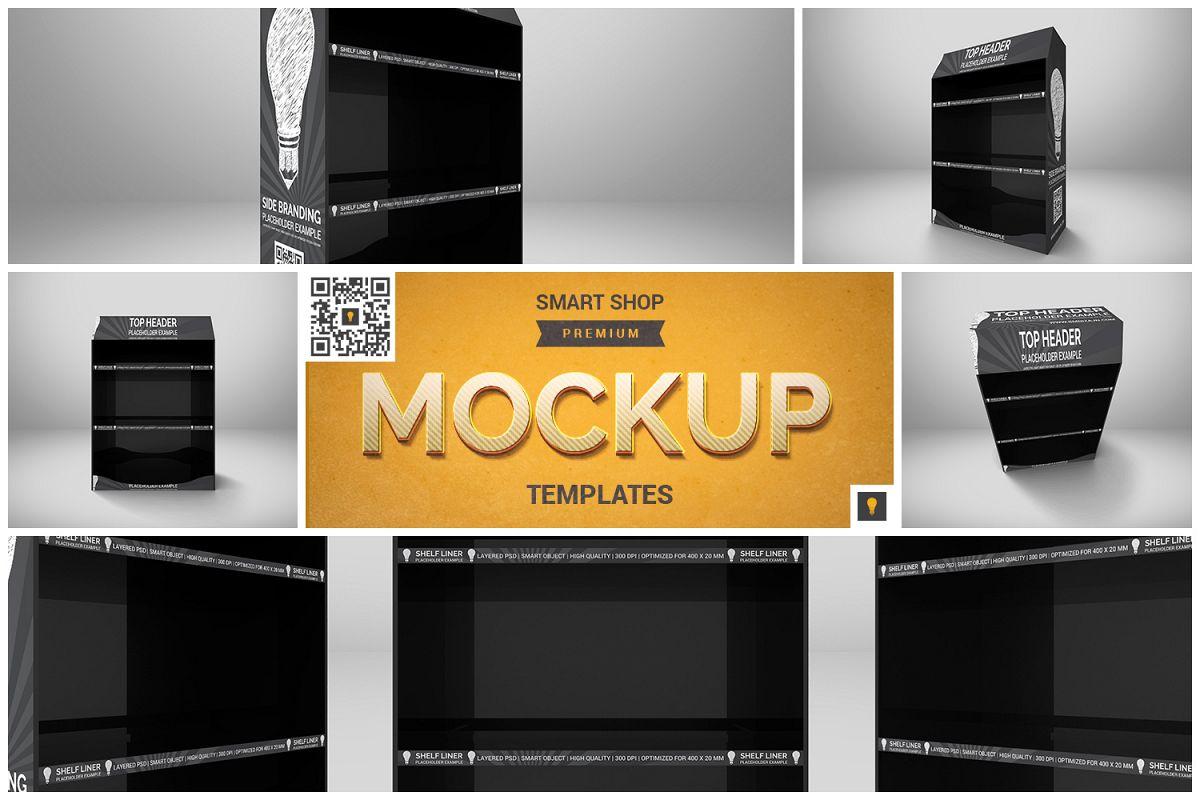 Promotional Shelf Display Mockup example image 1