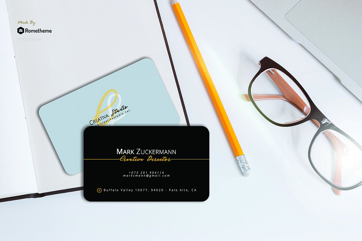 Business Card vol. 21 example image 1