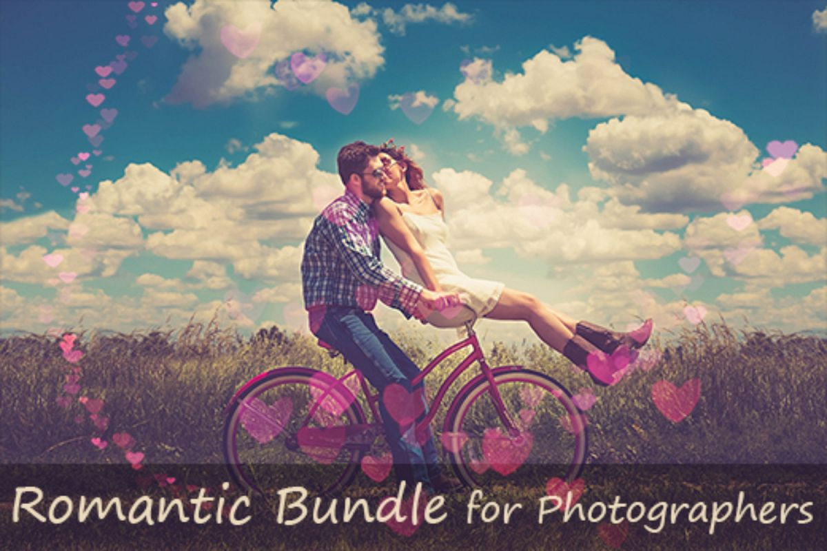 1700 Romantic Effects Bundle for Photographers example image 1