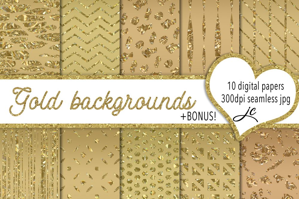 Gold Backgrounds example image 1