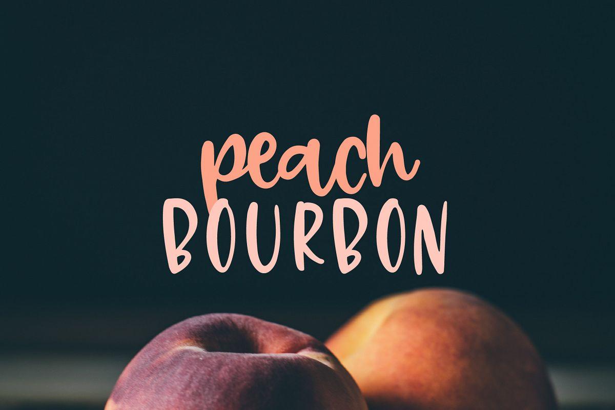 Peach Bourbon example image 1