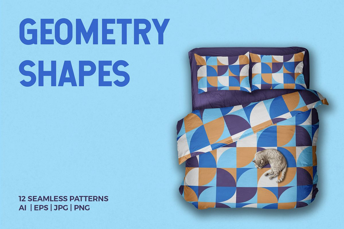Geometric Shapes Patterns example image 1
