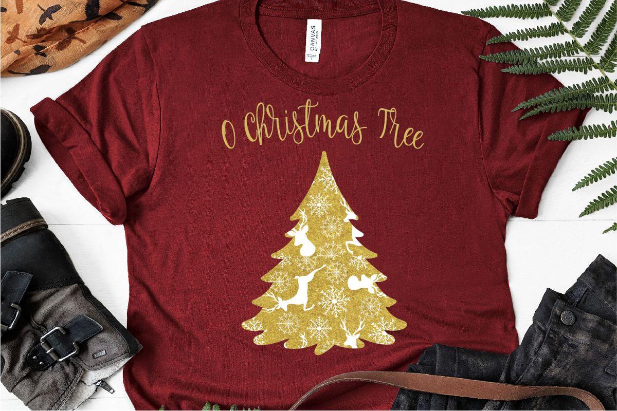 O Christmas Tree SVG, Christmas SVG example image 1