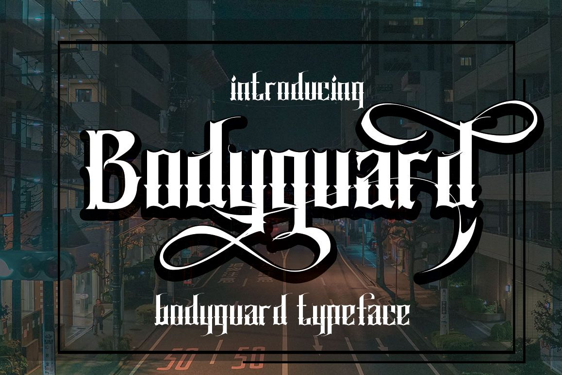 Bodyguard example image 1