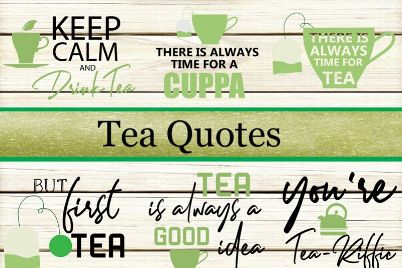Tea Quotes Bundle example image 1