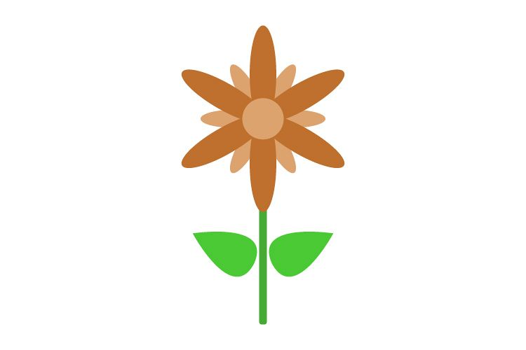Flower icon example image 1