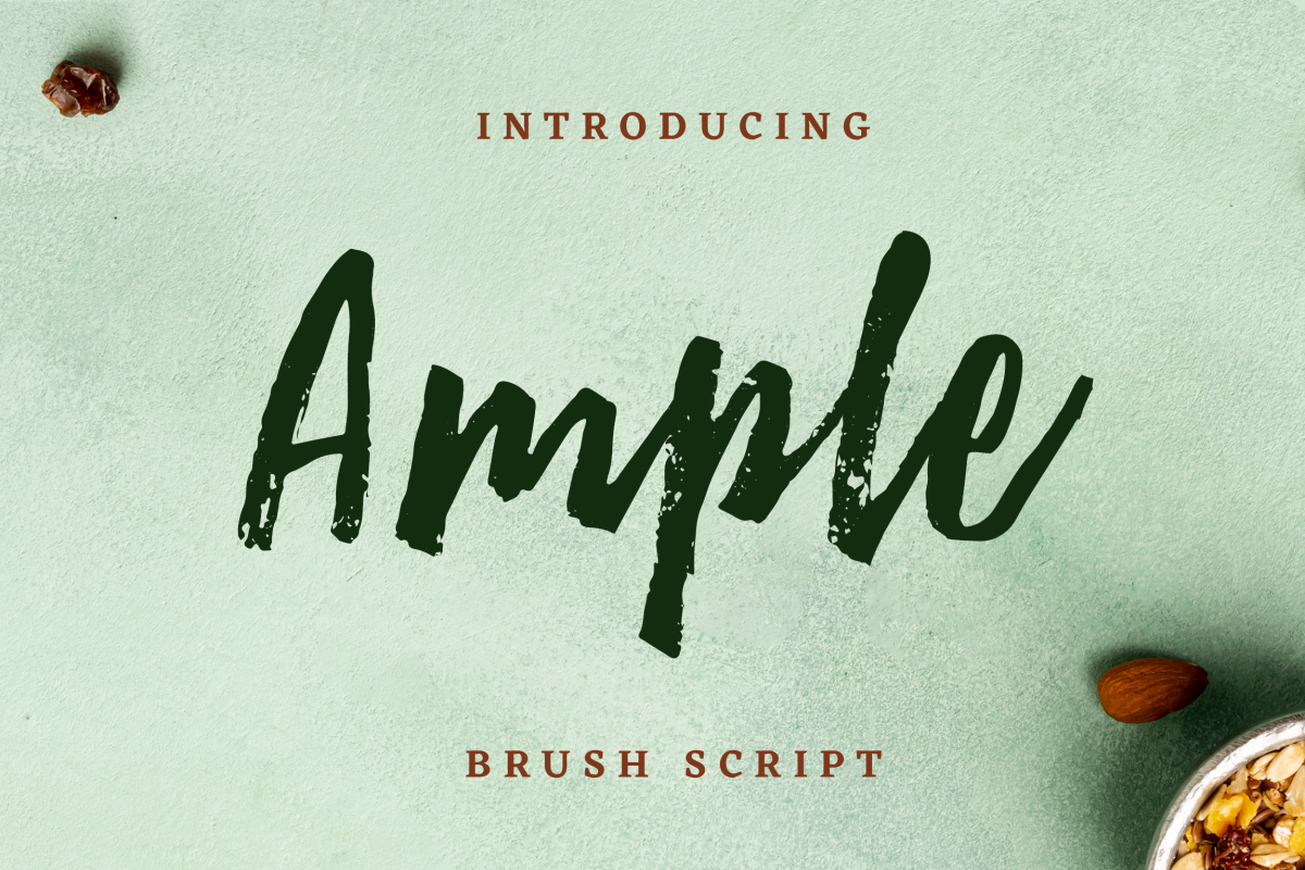 Ample Brush Script example image 1
