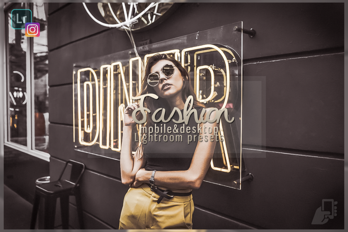 5 Fashion professional presets mobile dng pc instagram