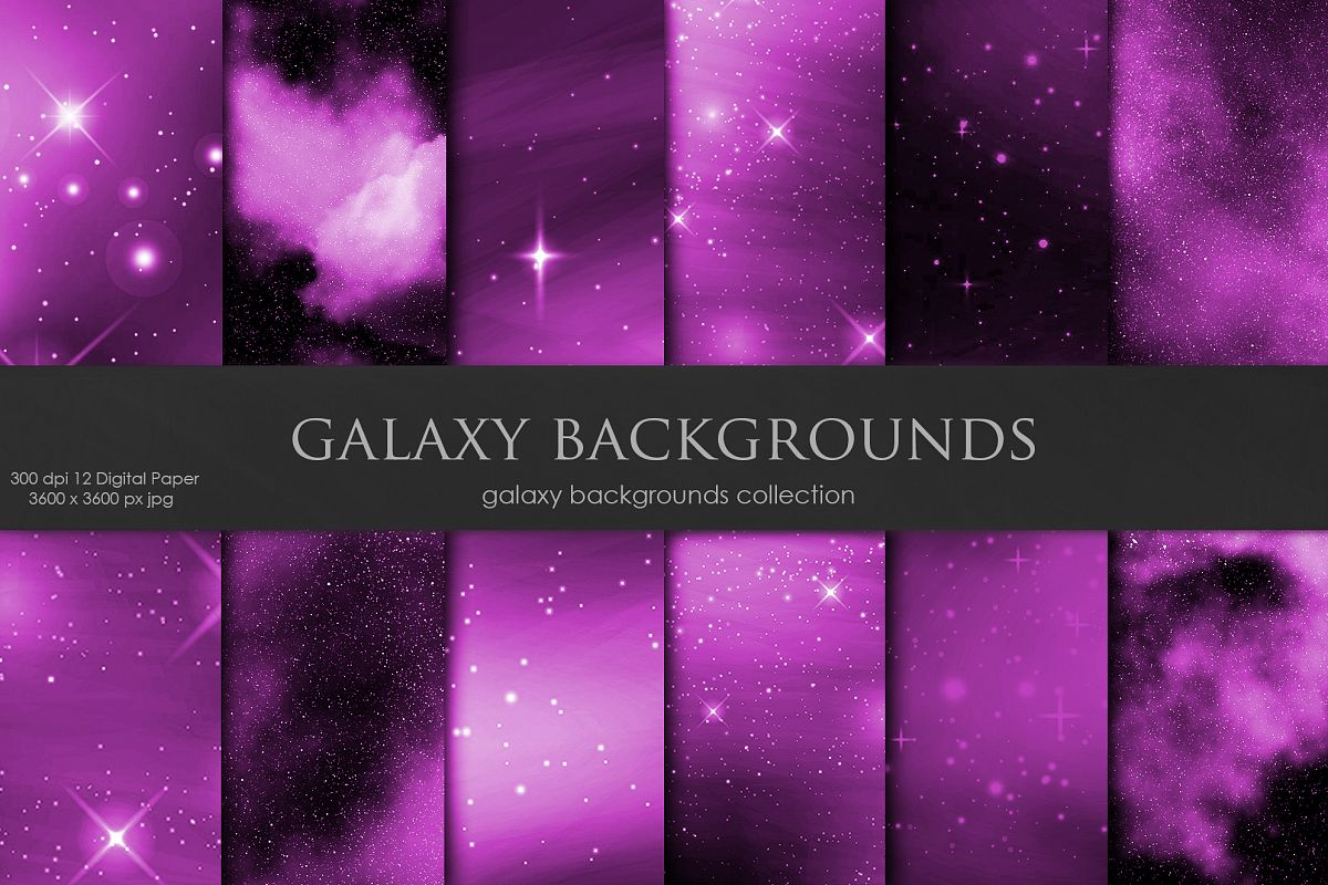 Galaxy, Space Pink Backgrounds example image 1