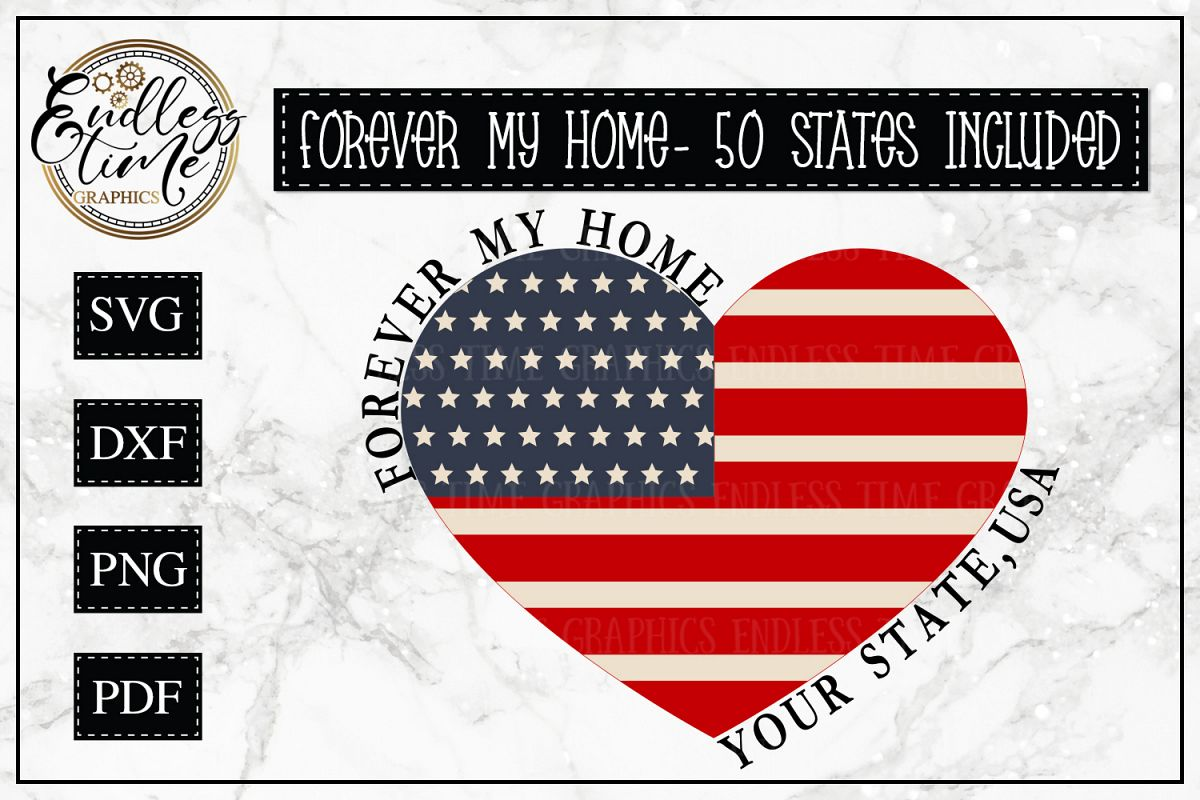 Forever My Home Bundle - All 50 States Included example image 1