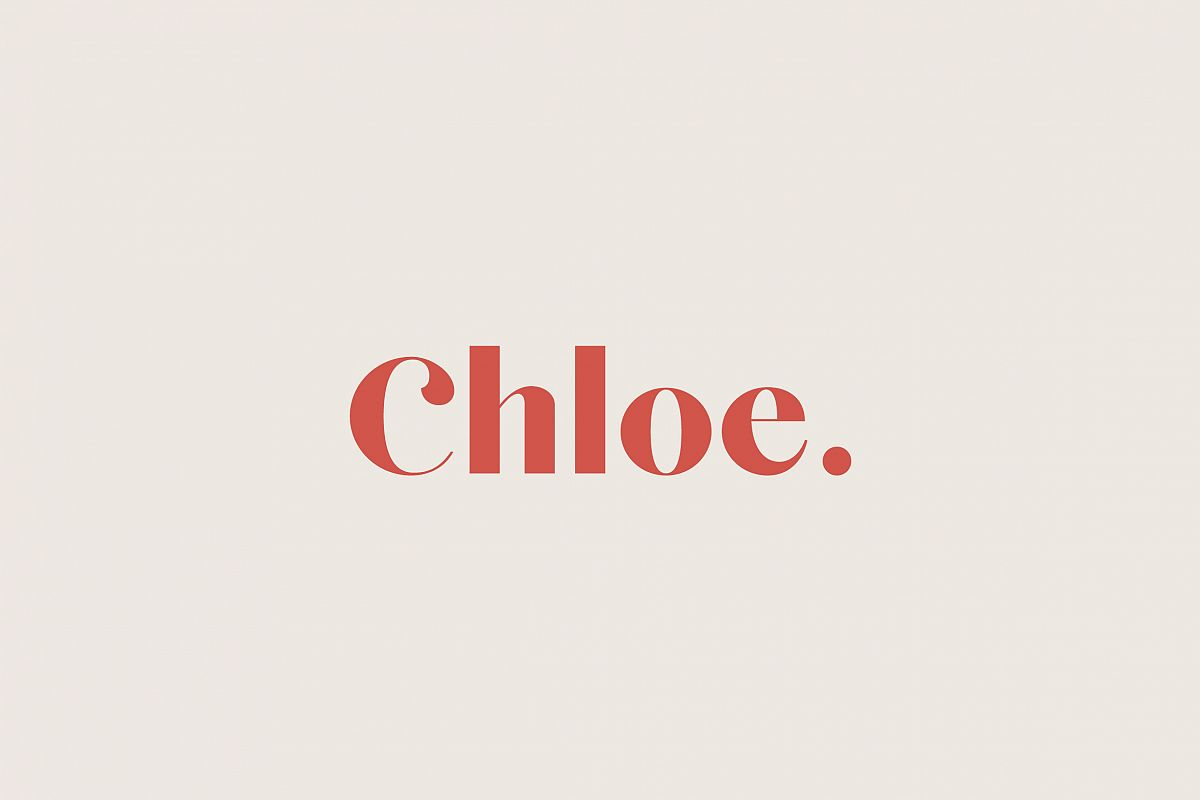 Chloe - A Classic Typeface example image 1