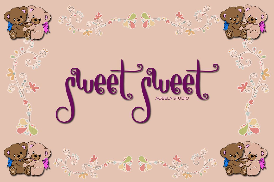 sweet sweet example image 1