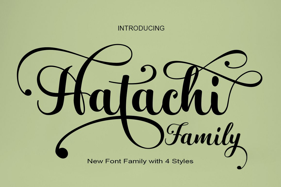 Hatachi Family example image 1