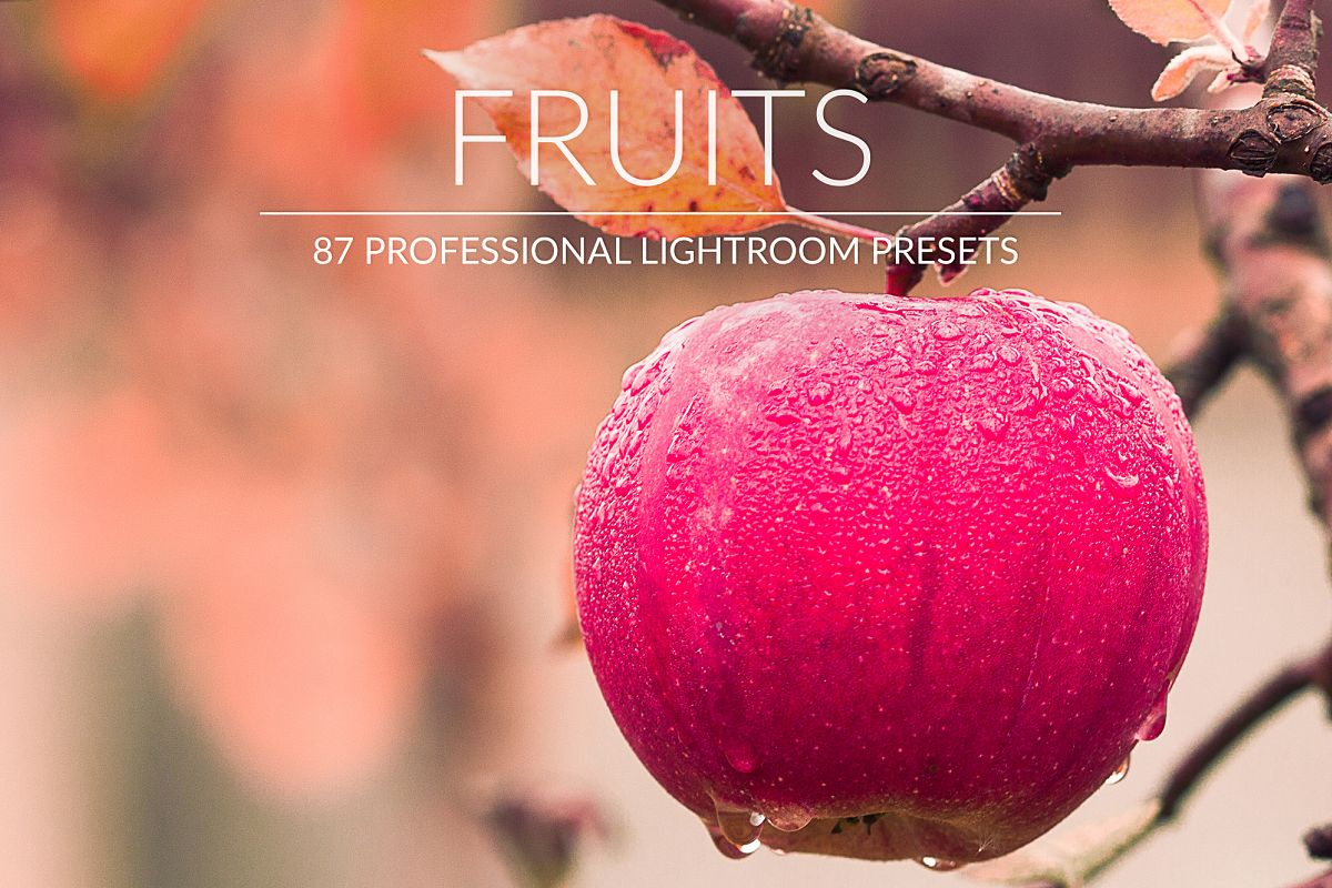 Fruits Lr Presets example image 1