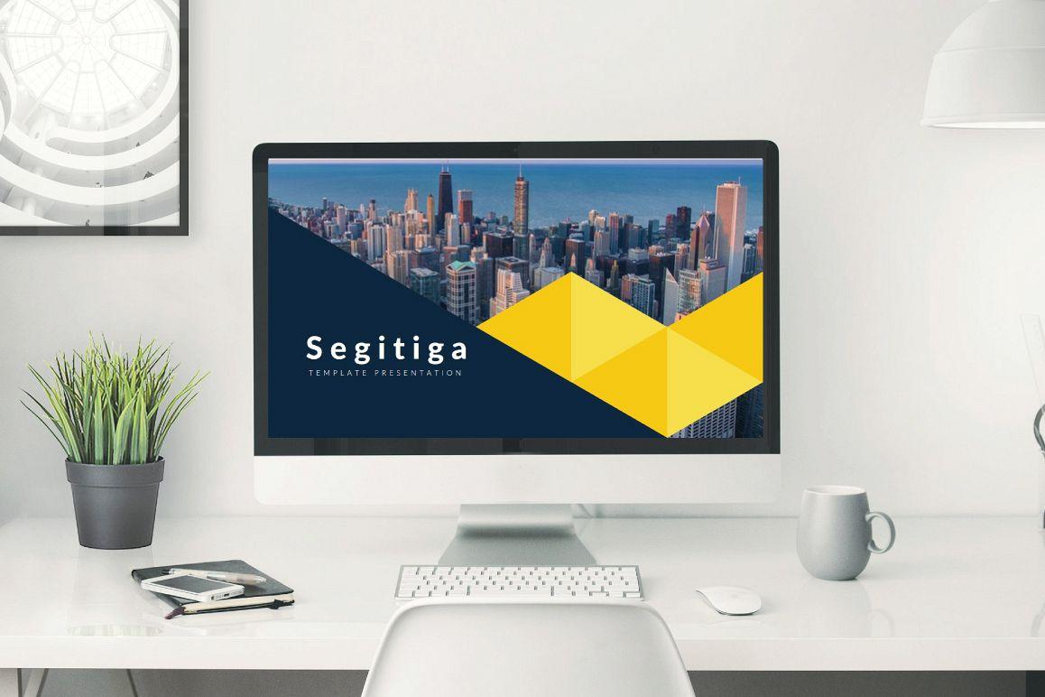 Segitiga Keynote Template example image 1