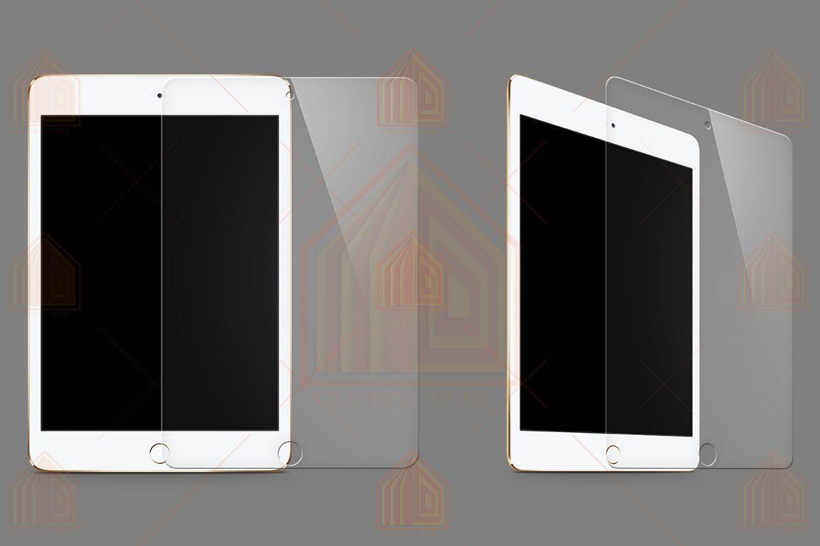iPad Mini 4 Tempered Glass Template example image 1