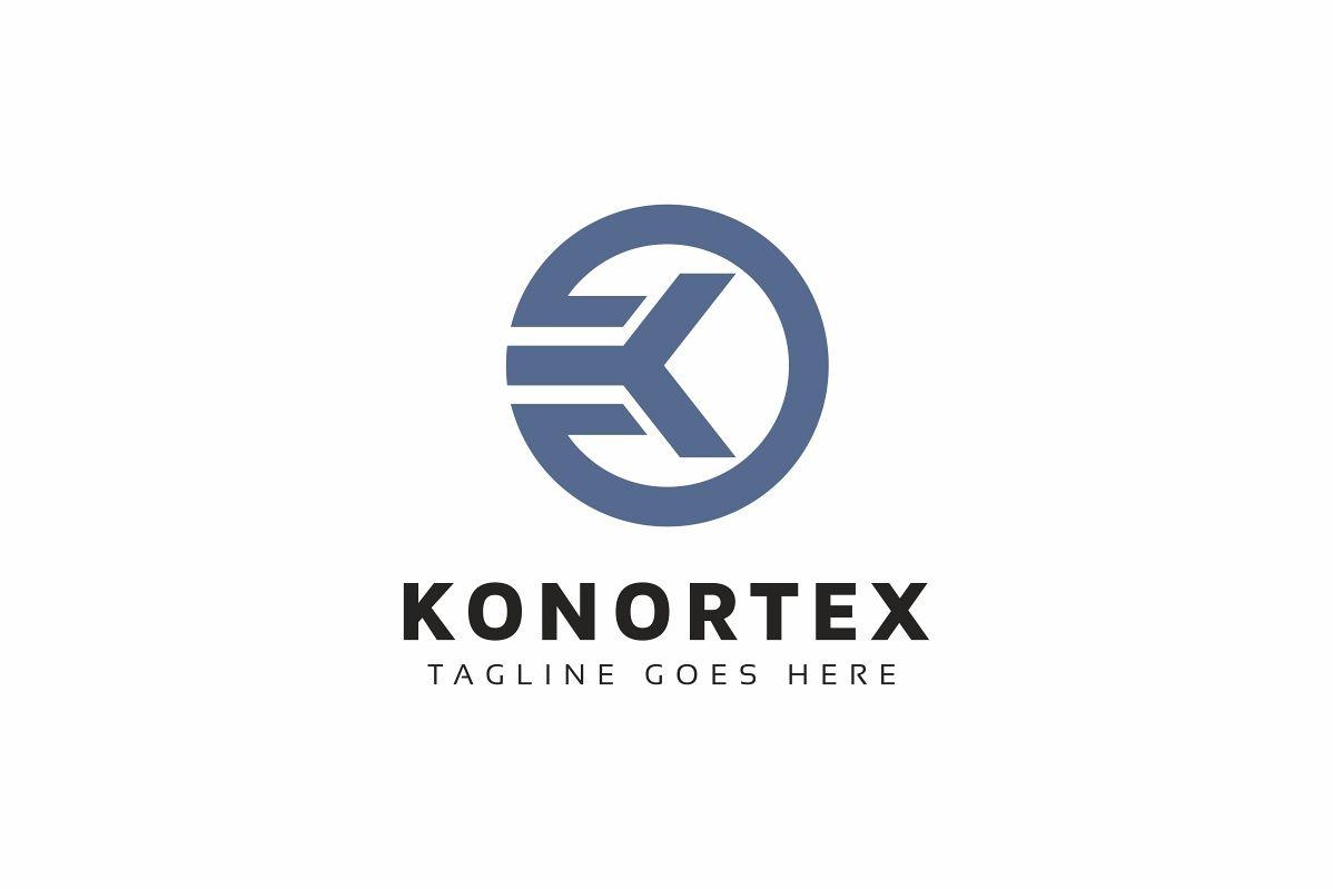 Konortex K Letter Logo example image 1
