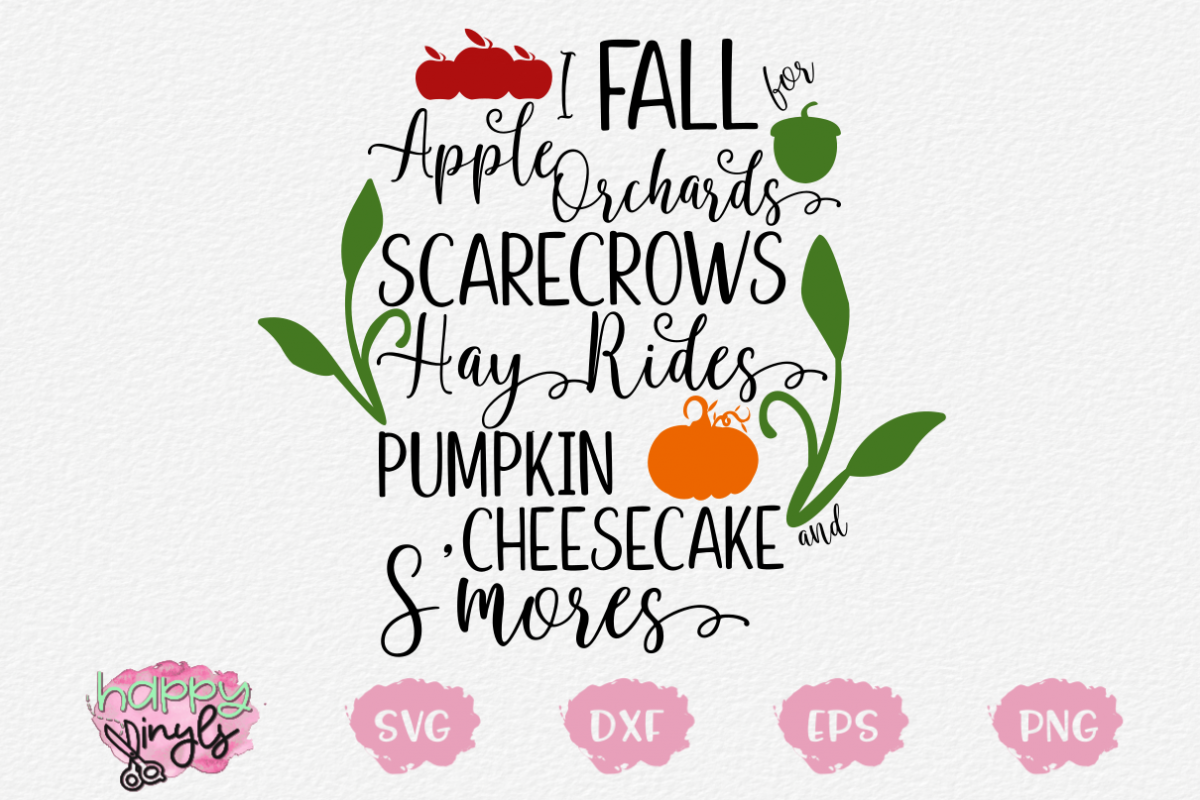 I Fall for Apple Orchards and More - A Fall SVG example image 1