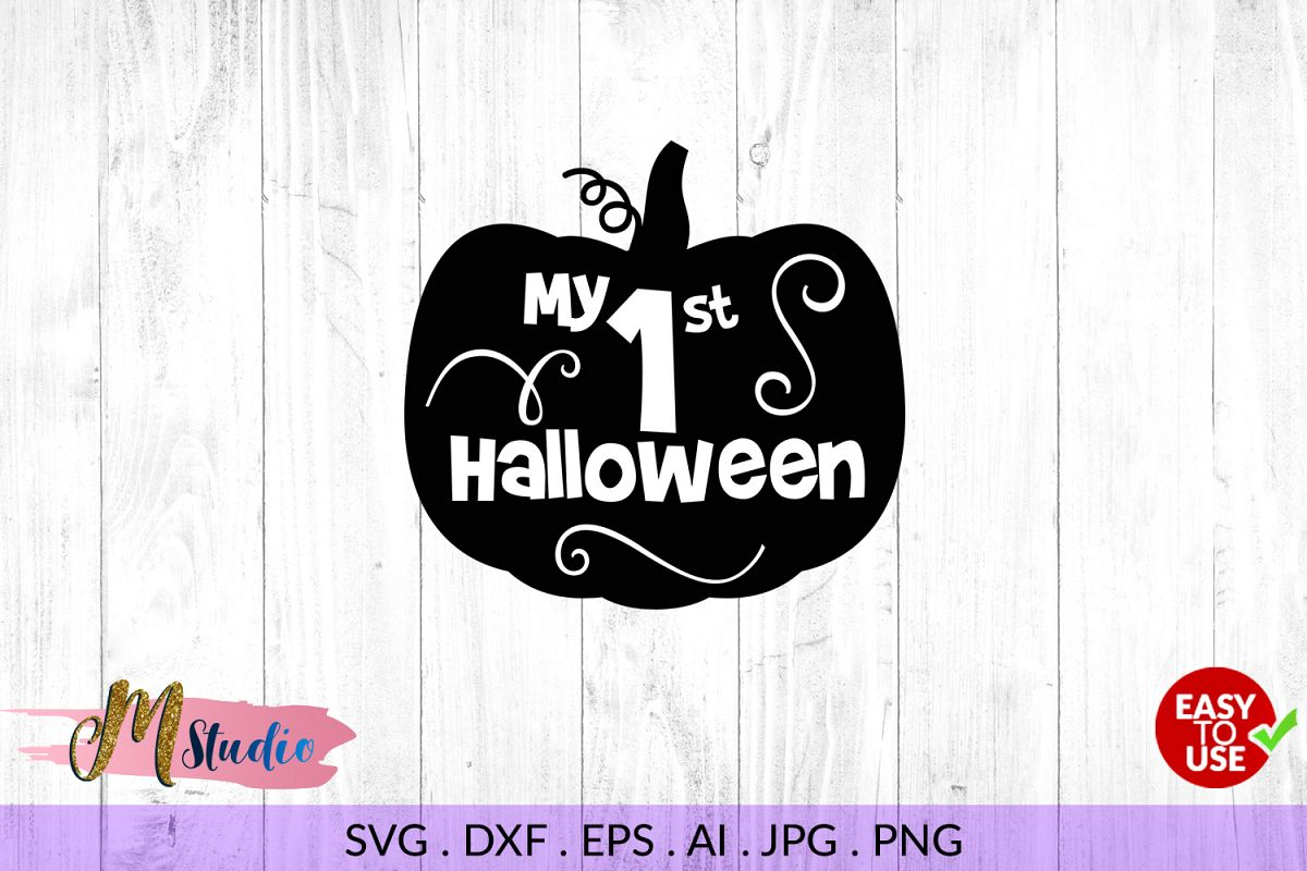 my first halloween svg for silhouette cameo or cricut