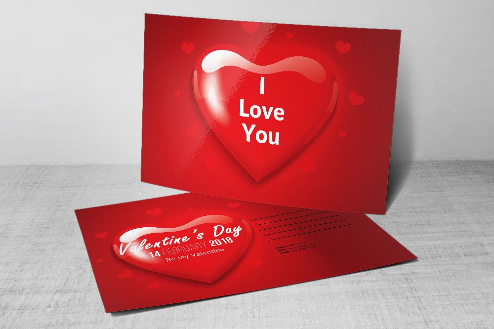 Love Postcard Templates example image 1
