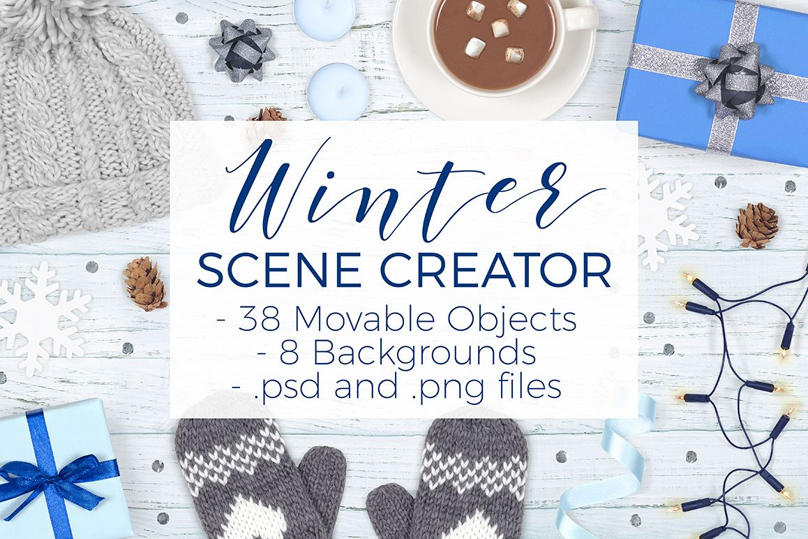Winter Scene Creator - Top View example image 1