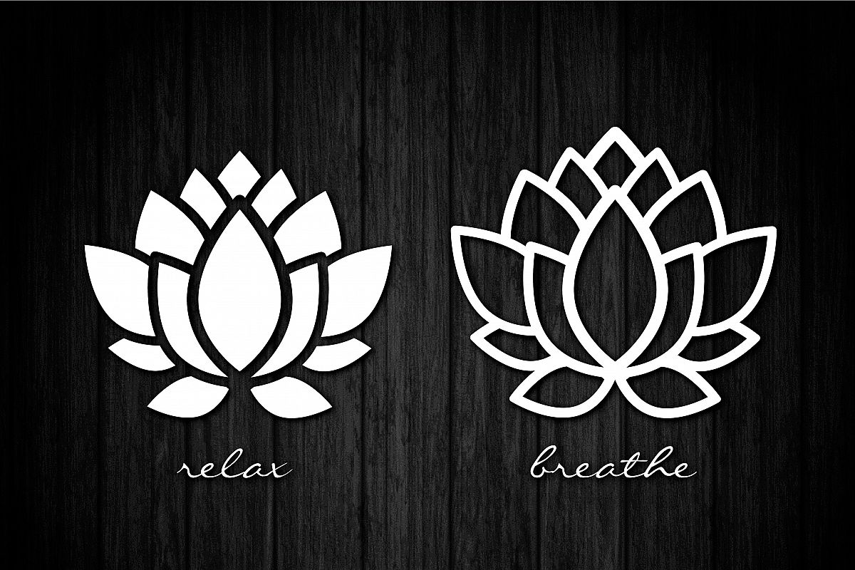 Lotus flower svg cut files vinyl cutters screen printing lotus flower svg cut files vinyl cutters screen printing silhouette die izmirmasajfo