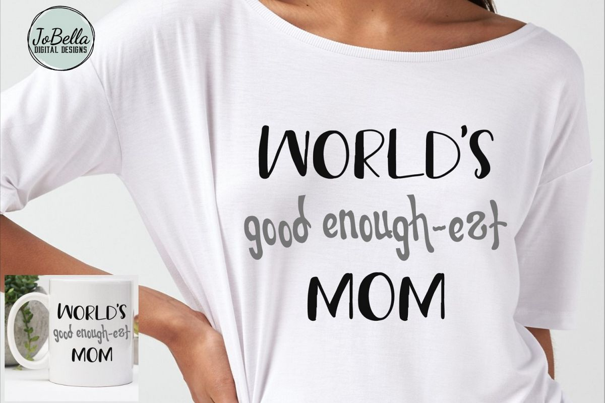 Funny Mom SVG, Sublimation Design and Mother's Day Printable example image 1