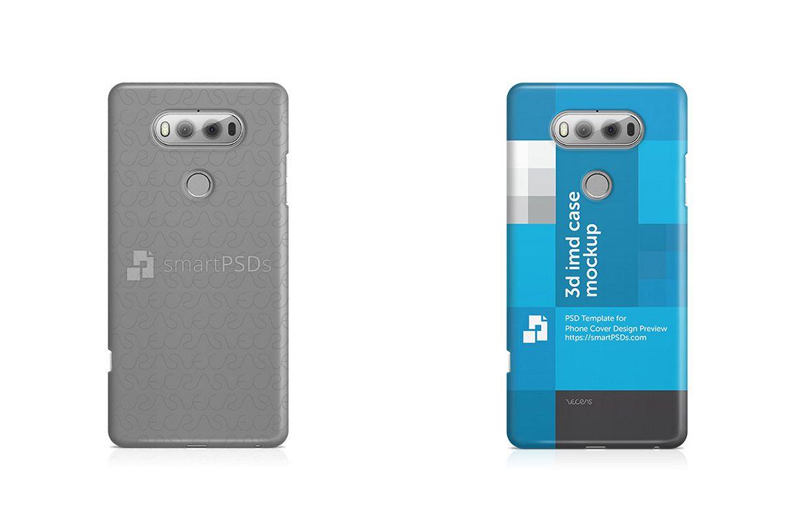 LG V20 3d IMD Mobile Case Design Mockup 2016 example image 1