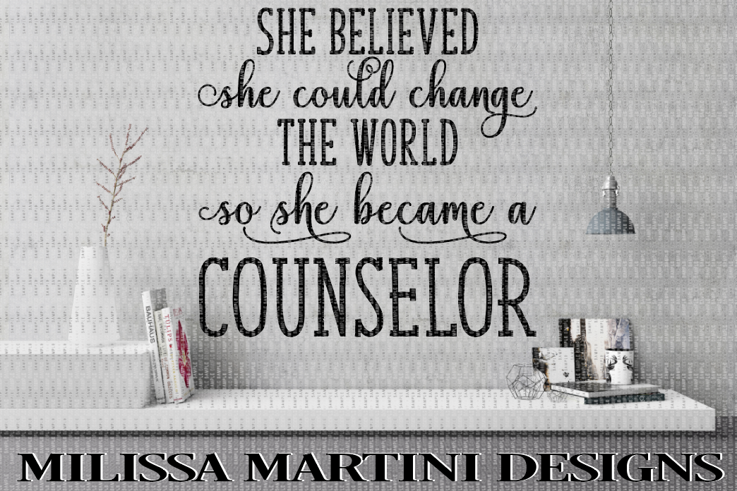 She Believed She Could Change The World So She Beacame A Counselor example image 1
