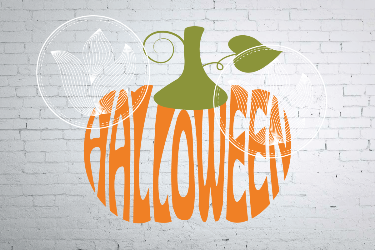 digital halloween word art jpg png eps svg dxf halloween