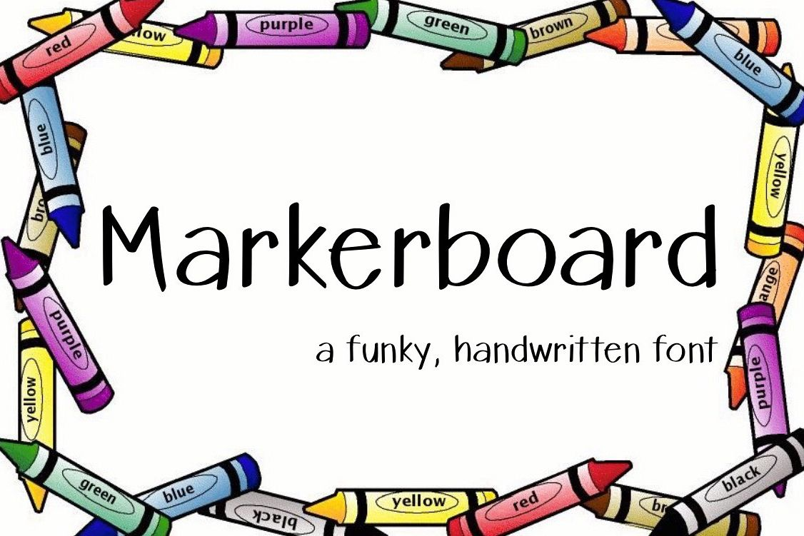 Markerboard example image 1